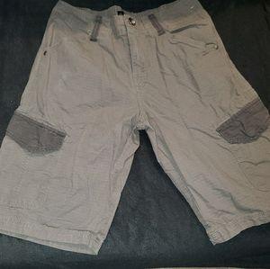 Men's guess cargo shorts size 29